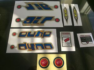 Dave Mirra Decal Kit Dyno Haro Redline Hutch Redline Robinson Redline
