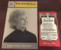 Vintage October 1963 Playbill Dorothy Collins In South Pacific Program