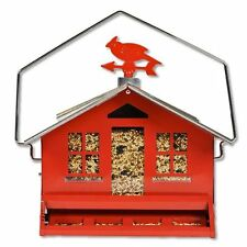 Perky-Pet 338 Squirrel Be Gone II Country House with Weathervane , New, Free Shi