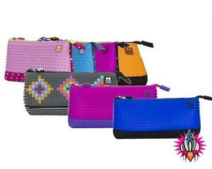 retro pixie crew pixel bags design your own pencil case cover with
