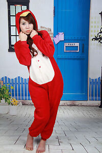 Adult-Pajamas-Cosplay-Costume-Animal-Onesie-coral-velvet-sleepwear-Angry-bird