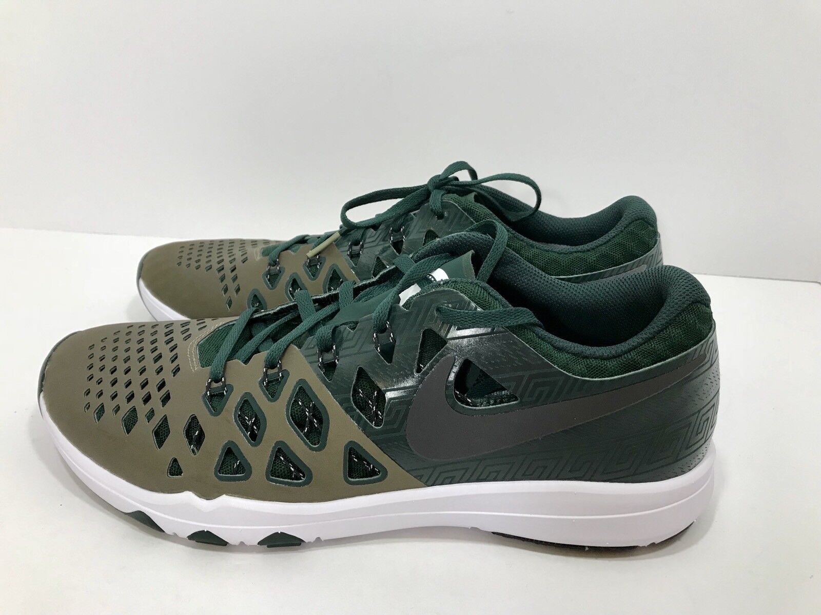low priced d2325 a37a2 ... Nike Train Speed 4 Amp Michigan Michigan Michigan State Spartans Men s  Size 13 ...