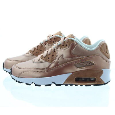 Nike 859633 Kids Youth Boys Girls Air Max 90 SE Leather Low Top Shoes Sneakers | eBay
