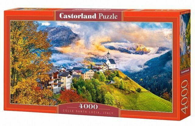 GERMANY VIEV OF THE NEUSCHWANSTEIN CASTLE CASTORLAND 400218 4000 TEILE PUZZLE
