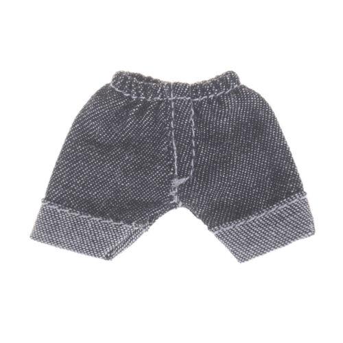 Doll Leggings For Obitsu11 OB11 1//12 DollShort Jeans Pants Clothes ha