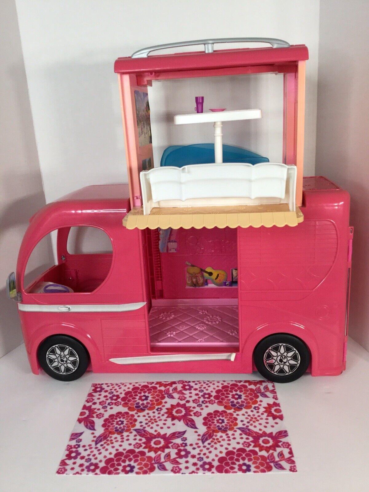 Mattel 2015 Barbie RV Pop-Up Camper