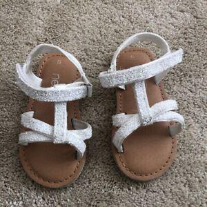 Next Baby Girl white Sandals Size 5   eBay
