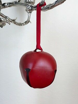 Christmas Ornaments Decorative Small Jingle Bells 16 Ct Green Red