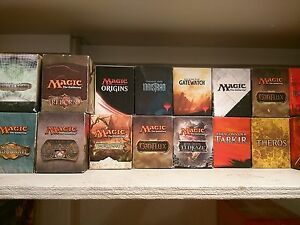 1-Empty-Fat-Pack-Box-SHADOWS-OVER-INNISTRAD-PLAYED-Magic-MTG-FTG
