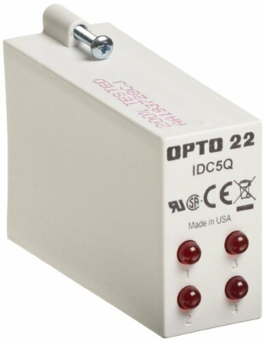 Opto 22 Input Module 4 Channel Model #IDC5Q