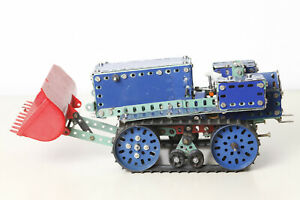 Tracked-Tractors-Caterpillar-With-Marklin-Stabilbaukasten-1-Motor-for-Hobbyists