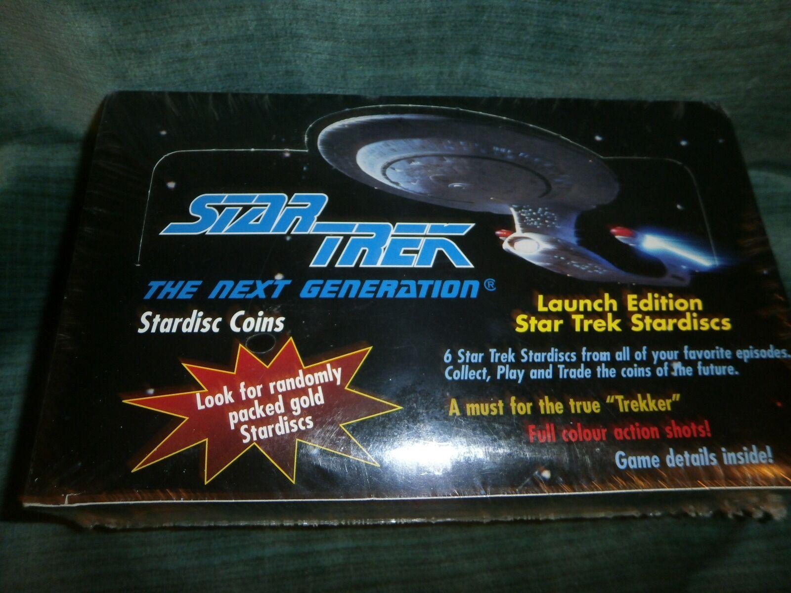 STAR TREK LAUNCH EDITION STAR TREK STARDISCS New  A brand-new, unused, unopened,
