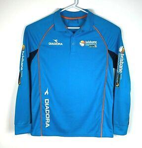 Diadora-Brisbane-International-Rare-Tennis-Long-Sleeve-Shirt-Size-Men-039-s-Medium