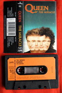 QUEEN-MIRACLE-1989-UNIQUE-EXYU-CASSETTE-TAPE