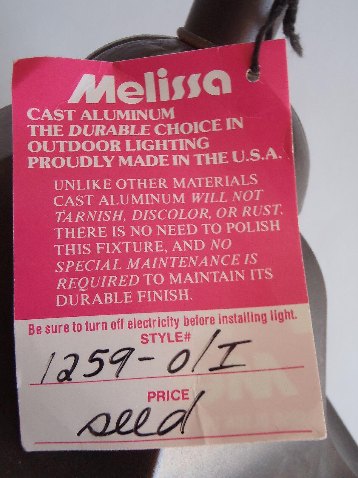 Outdoor Wall Porch Light Melissa 1259-O I 22x12x9 22x12x9 22x12x9  120v 4ab9c9