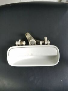 90 91 92 93 Acura Integra Exterior Door Handle Right Rear Oem White 2dr 3dr Ebay