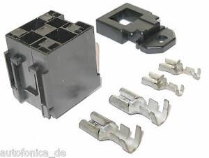 Voiture monture pour Maxi relais car relay socket maxirelais 9,5 6,3 MTA camion socle