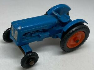 Matchbox-Lesney-No-72a-Blue-Fordson-Major-Tractor-Near-Mint