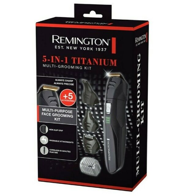 Remington Mens Beard Body Hair Trimmer Shaver Groomer Cordless Rechargeable NEW