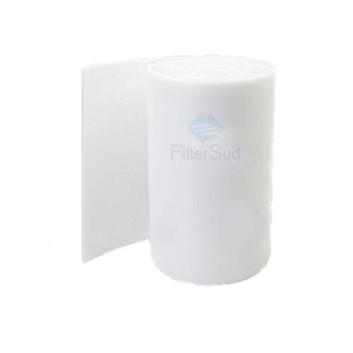 PreFiltro Bianco in Poliestere in rotoli G3 norma EN 779 1 x 20m spess 15mm