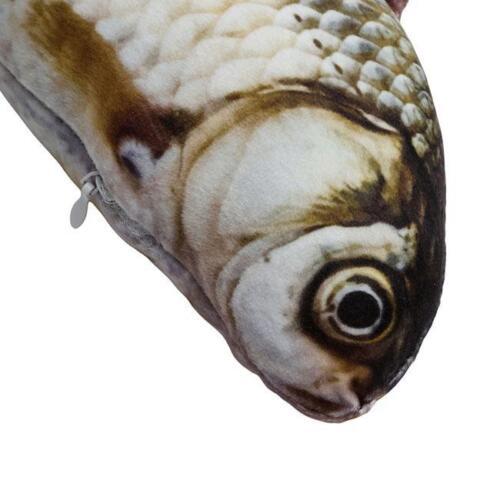 Fish Shape Plush Toys Pillow Sofa Pillow Throw Cushion Kids Toy Pillow SW