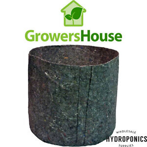 Image Is Loading Growers House Essentials Round Fabric Charcoal Pots 7