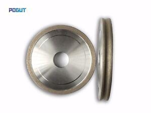 D100*22*3,4,5,<wbr/>6,8,10mm FA Shape Edge Glass Diamond Grinding Polishing Wheel