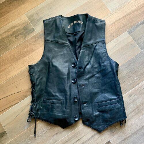 Stone Rockers Leather Jacket