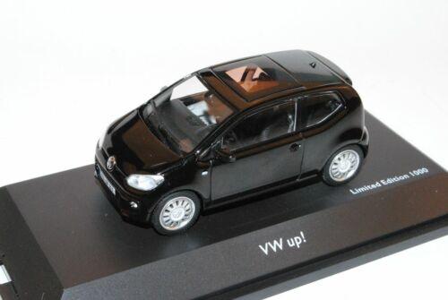 Schwarz 3 Türer Ab 2011 1//43 Schuco Modell Auto mit oder ohne VW Volkswagen Up
