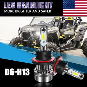 Image Is Loading Polaris H13 9008 Conversion LED Bulb Headlight Kit