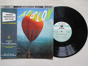 LP-25CM-JEAN-PRODROMIDES-034-Le-voyage-en-ballon-034-Soundtrack-840-906-bz-FRANCE