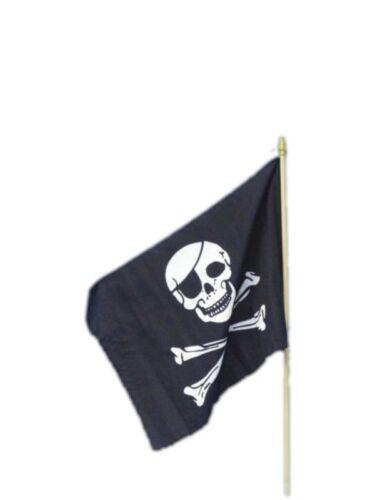 45x30cm per Adulti Unisex Smiffys Costume Accessorio BANDIERA Pirata