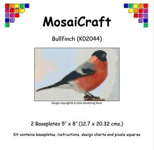 MosaiCraft-Pixel-Craft-Mosaic-Art-Kit-039-Bullfinch-039-Pixelhobby