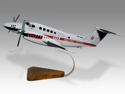 In Workmanship Alert Beechcraft B200c Super King Air Victoria Air Ambulance Pel Air Desktop Model Exquisite