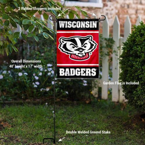 Wisconsin Badgers Basketball Garden Yard Banner Flag