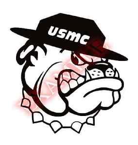 PICK-COLOR-SIZE-Vinyl-Decal-USMC-Bulldog-US-Marine-Corps-Sticker-Window-Glass