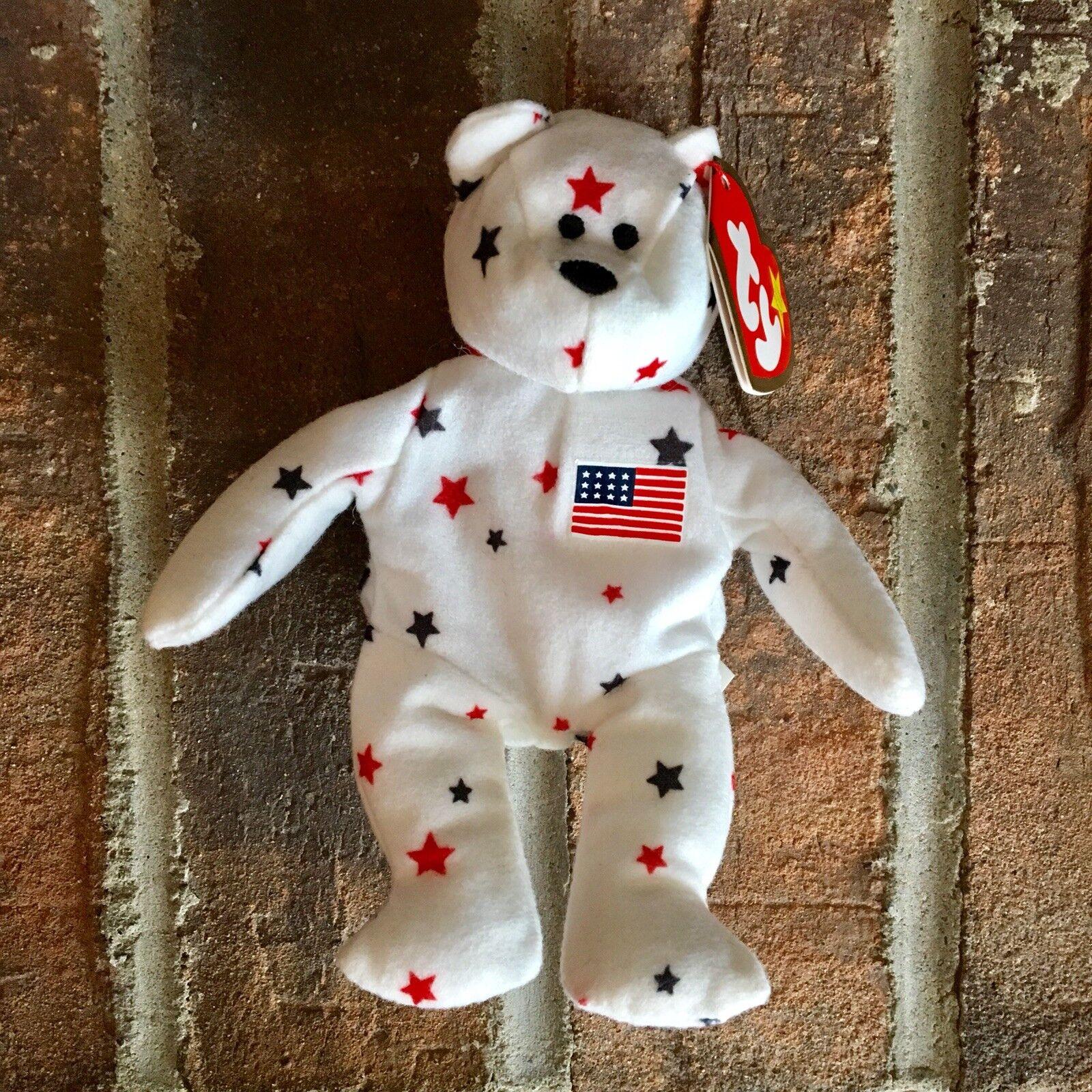 Teenie beanie babies American Bear Bear Bear ea9e8d