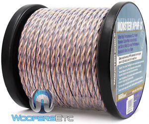 Monster Cable Xphp Ci Biggie Spool 100 Feet Home Car Audio