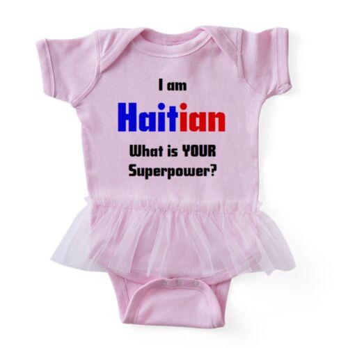 I Am Haitian CafePress Baby Tutu Bodysuit