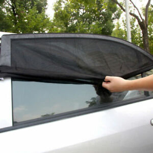 2x pare soleil de voiture vitre lat rale arri re. Black Bedroom Furniture Sets. Home Design Ideas