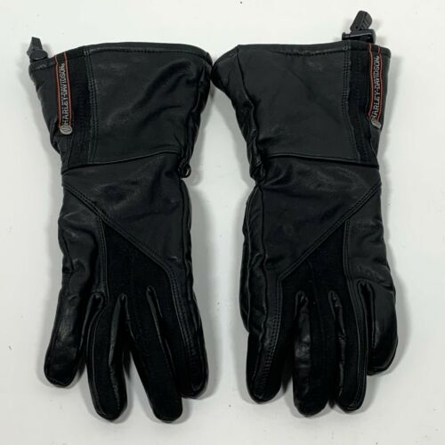 Harley Davidson Genuine Leather Gauntlet Motorcyc… - image 1