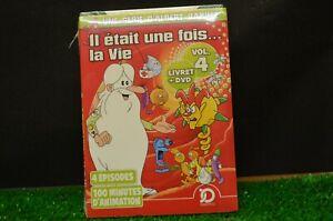 """""""""""DVD il etait une fois la vie neuf sous blister vol 4 livret+dvd 4 episodes"""