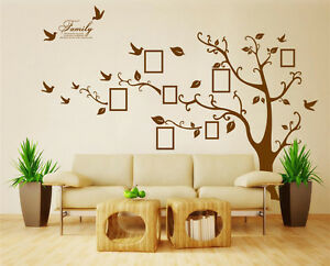 Image Is Loading X Large Family Tree Bird Photo Frame Wall