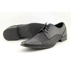 Calvin Klein Mens Bram Diamond Leather Oxford Shoe 11 Calvin Klein Bram Diamond Leather Shoes
