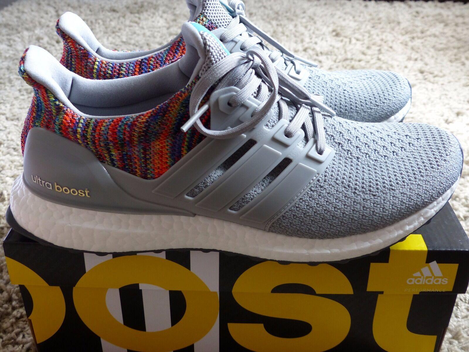 Adidas Ultra Bottes 2.0 Gris Multicolour UK9 US9.5 miAdidas ltd to 7000 pairs sns