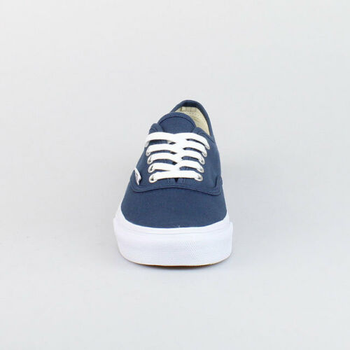 Chaussures Vans Authentic V Dark Denim Blanc Slim q0O0Uf