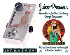 Genevieve FX Juice Pressor - Orange Compressor Recreation in Silver Leaf