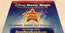 Disney Movie Rewards Toy Story 3 DVD Points Only 100pts NO MOVIE