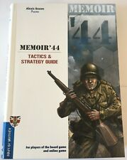 Days of Wonder Memoir 44 Tactics and Strategy Guide 2day Delivery