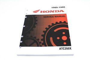 New Service Manual Honda Atc350x Atc 350x Oem Honda Shop Repair Book Atc350 M92 Ebay